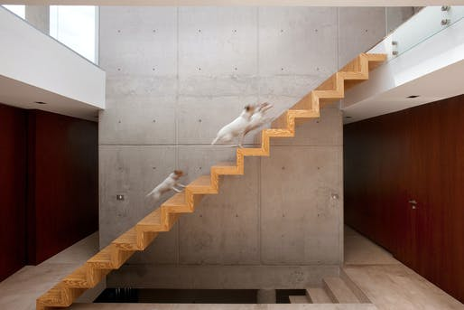Block House in Mexico City by A-001 Taller de Arquitectura; Photo: Jaime Navarro