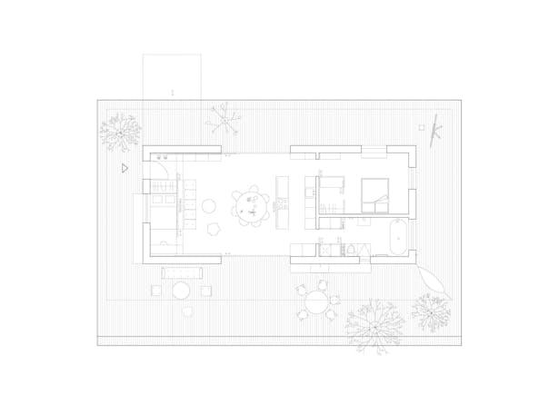 Ground Floor Layout Ateliér Lina Bellovičová