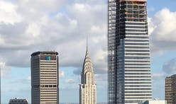 Construction on KPF's One Vanderbilt reaches top of supertall crown