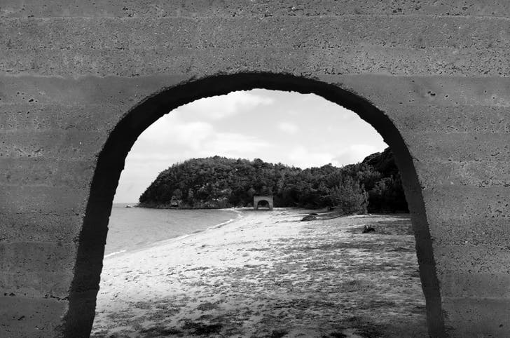 Teshima, Japan Two Arches on a Coast, 2010- Project, Logan Amont