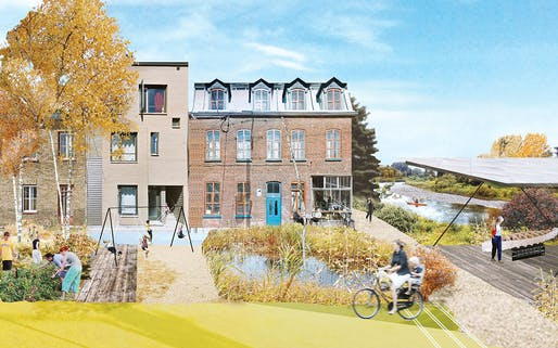 Cadaster | Headwater Lot: Adaptive Reuse Plan of Quebec City's Rights-of-Way, Quebec City, Canada, 2017. Credit: Cadaster.
