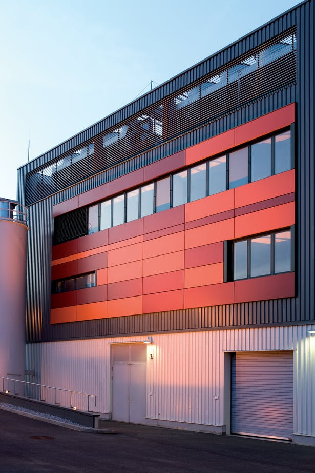 Sunfilm Solar Factory Hunter Douglas Archinect