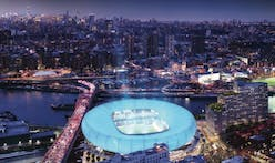 $700M proposal calls for NYC's first soccer stadium designed by Rafael Viñoly and 550 affordable apartments in the South Bronx