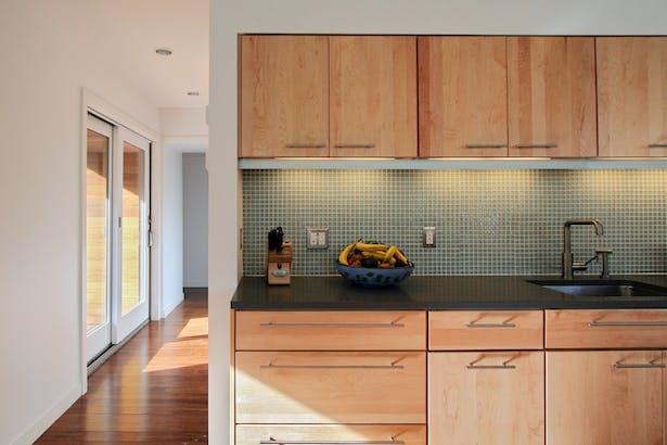 Vermont Cabin kitchen, © RES4