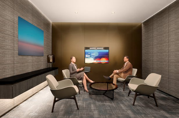 CONFIDENTIAL GLOBAL BANKING, FLAGSHIP NYC (MAIN BRANCH) VIP ROOM
