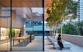 Foster + Partners debuts seismically resistant Apple store in Beijing's Sanlitun district