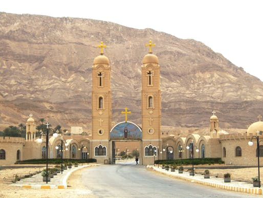 "Monastery of Saint Anthony. <a href=""https://en.wikipedia.org/wiki/Monastery_of_Saint_Anthony#/media/File:MonasteroAntonio2.jpg"">Wikimedia Commons</a>"