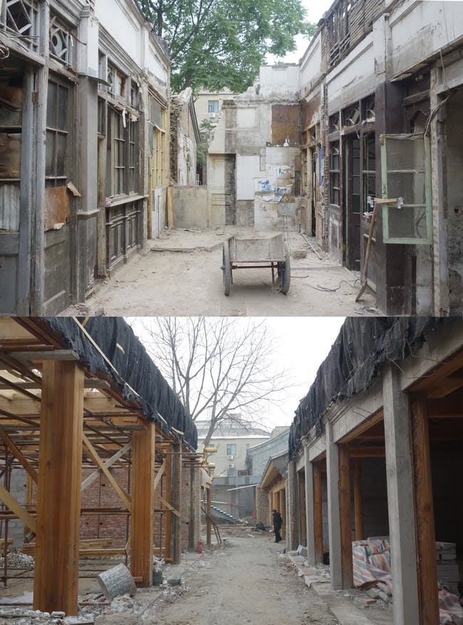 Before & After. Photos courtesy of MAD Architects.