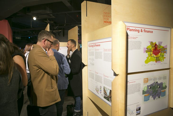 New Ideas for Housing London exhibition, photo courtesy of NLA.
