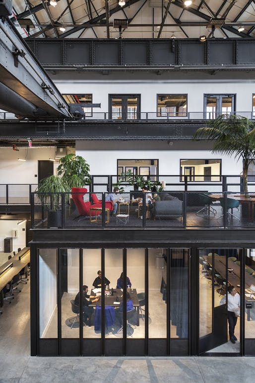 New Lab at the Brooklyn Navy Yard by Marvel Architects. Photo: Marvel Architects.