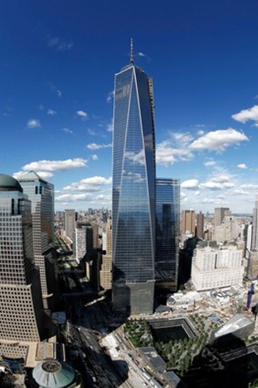 Slow leasing has led to rent cuts at One World Trade Center, pictured in September 2013. (The Wall Street Journal; Photo: Associated Press)