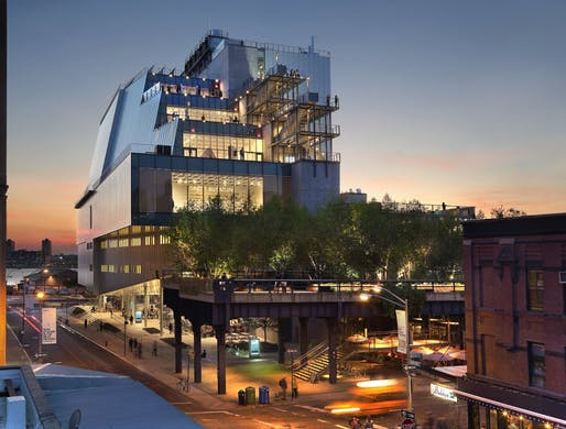 Whitney Museum of American Art - In collaboration with Renzo Piano Building Workshop. Image courtesy of Cooper Robertson