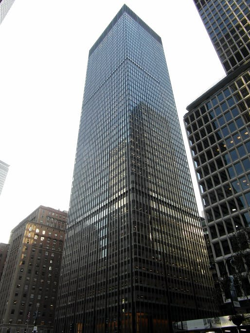 "The existing 270 Park Avenue building. Photo: Reading Tom/<a href=""https://www.flickr.com/photos/16801915@N06/8191438808/in/photostream/"">Flickr</a>."