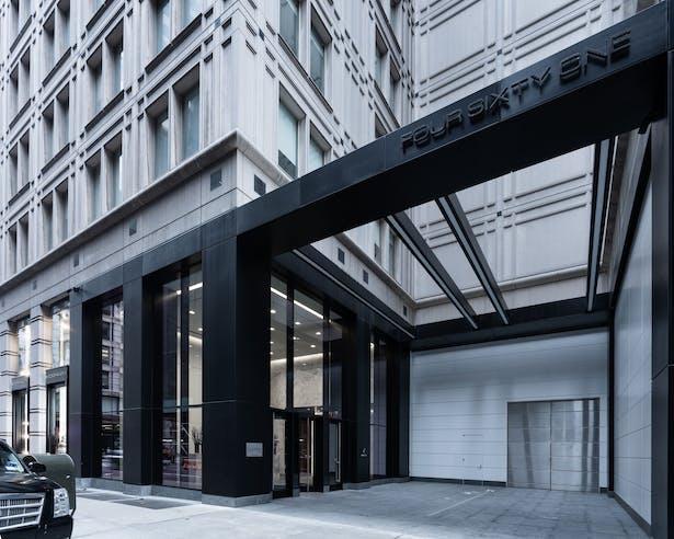 New Exterior Storefront & Plaza