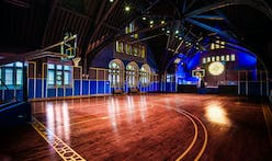 Nike transforms historic Chicago church into basketball court for young hoopers