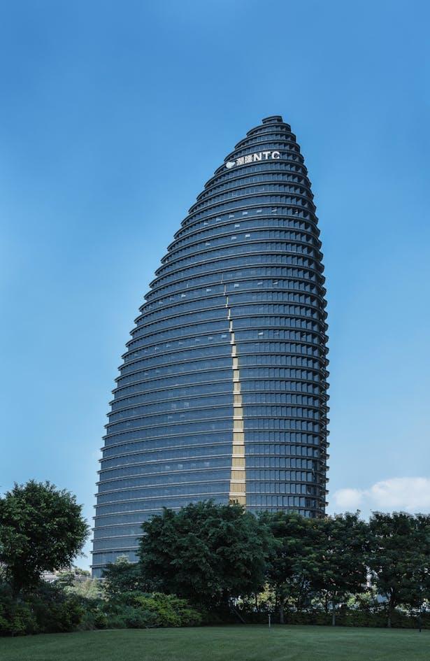 National Trade Center, Taichung, Taiwan, by Aedas