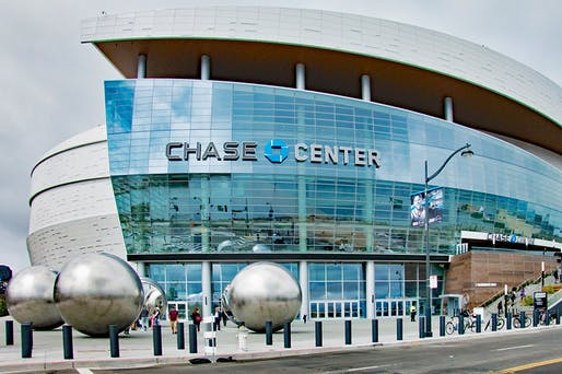View of the new Chase Center. Image courtesy of Wikimedia user Tony Wasserman.