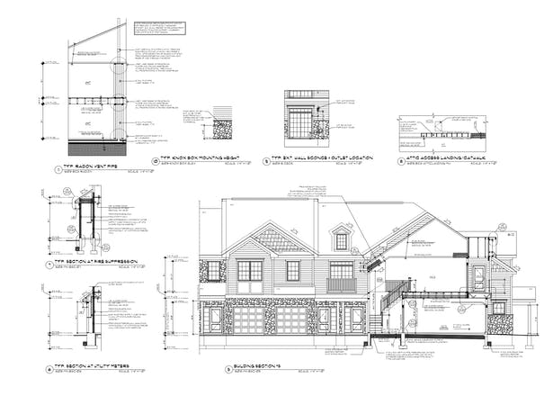 Manor Home Building Section