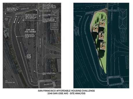 Container Apt Conceptual Site Plan