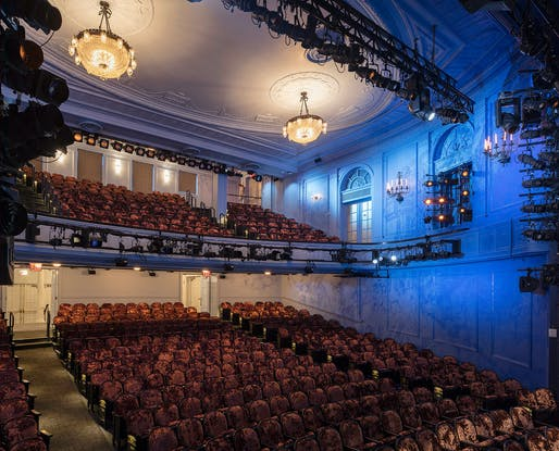 Oct 15: Hayes Theater, Architect: Rockwell Group, Photo: Paul Warchol.
