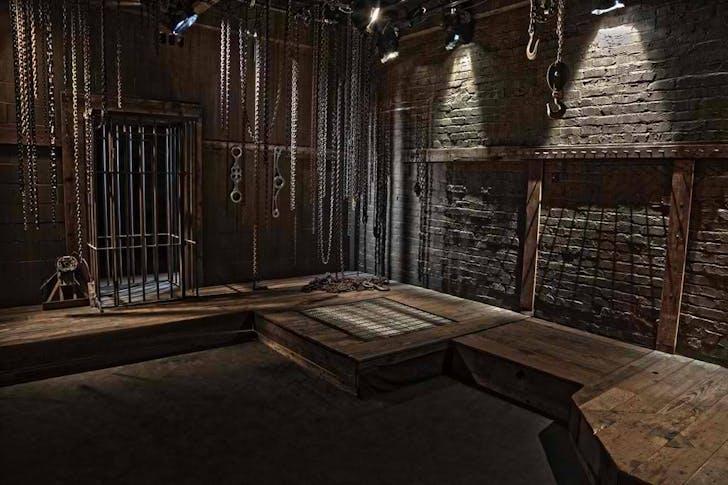 The 'Gimp Room,' a set in Kink.com's Armory building. Image courtesy Kink.com