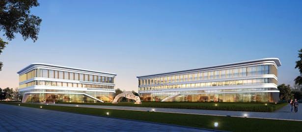 Ding Shu General Airport, Yixing Dushu, China / Cordogan Clark & Associates with Hanson