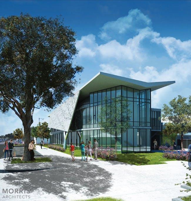 Santa Monica College - IT Relocation (unbuilt) by Morris Architects