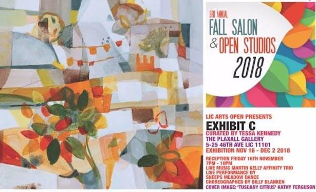 Fall Salon 2018 Poster