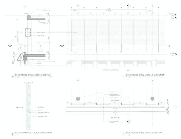 Plan Section Elevation Details