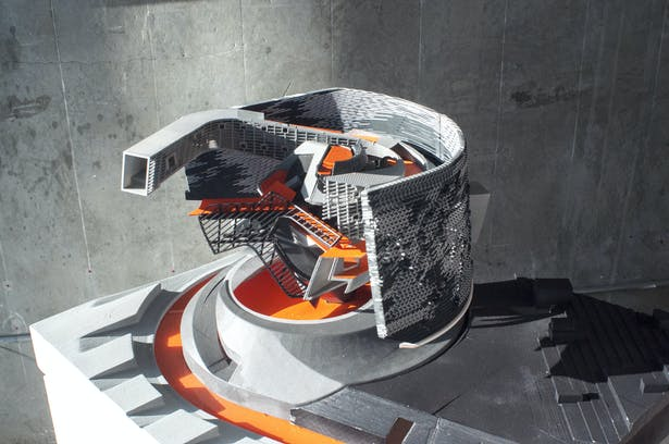 Regent's Library - 1:100 Nexus Circulation Physical Model