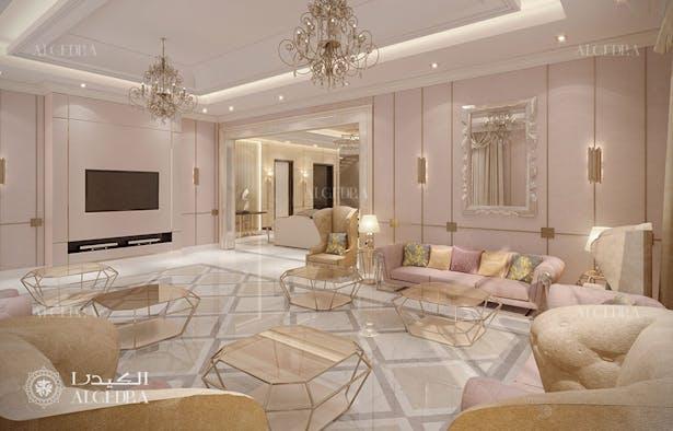 Modern Villa Interior Design In Oman Algedra Design Archinect