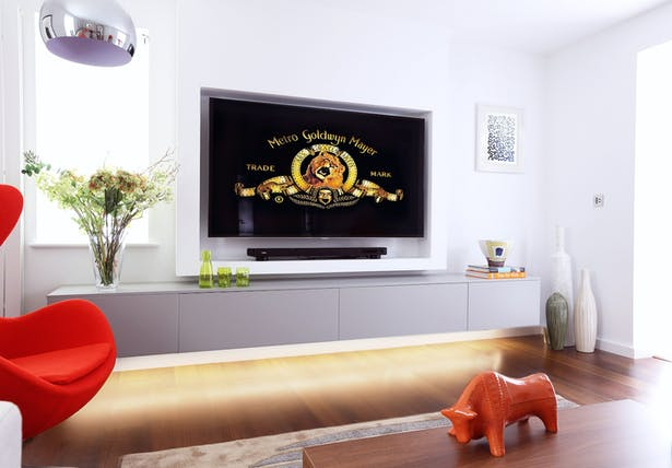 LLI Design - Butterton - Living Room TV Unit