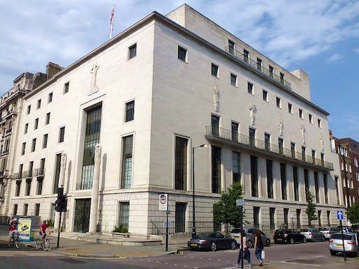 """RIBA's headquarters, 66 Portland Place, will host part of RIBA and Architects Declare's Built Environment Summit 2021. Image: <a href=""""https://commons.wikimedia.org/wiki/File:Cmglee_Royal_Institute_of_British_Architects.jpg"""">Wikimedia Commons</a>"""