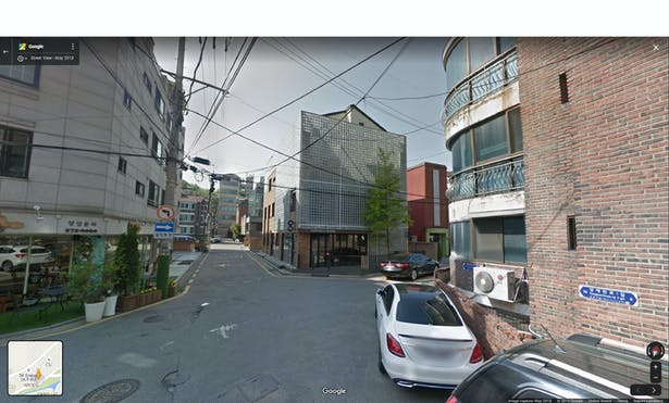 Google Street View of the Renovated Proon Building