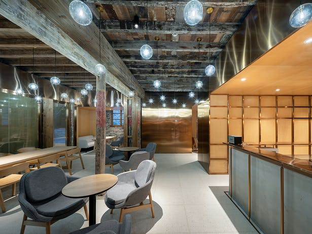 Coutyard Cafe & Dining Room, photo: Wu Qingshan
