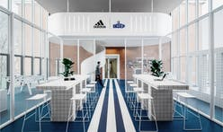 Ubalt Architectes complete Adidas-branded renovation of French National Institute of Sport, Expertise, and Performance
