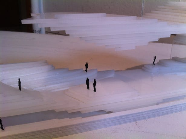 1/8 Scale Sectional Model - Zoomed In View 2