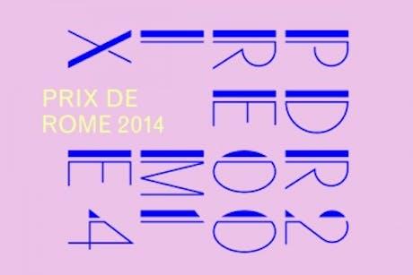 On the Prix de Rome 2014 longlist!