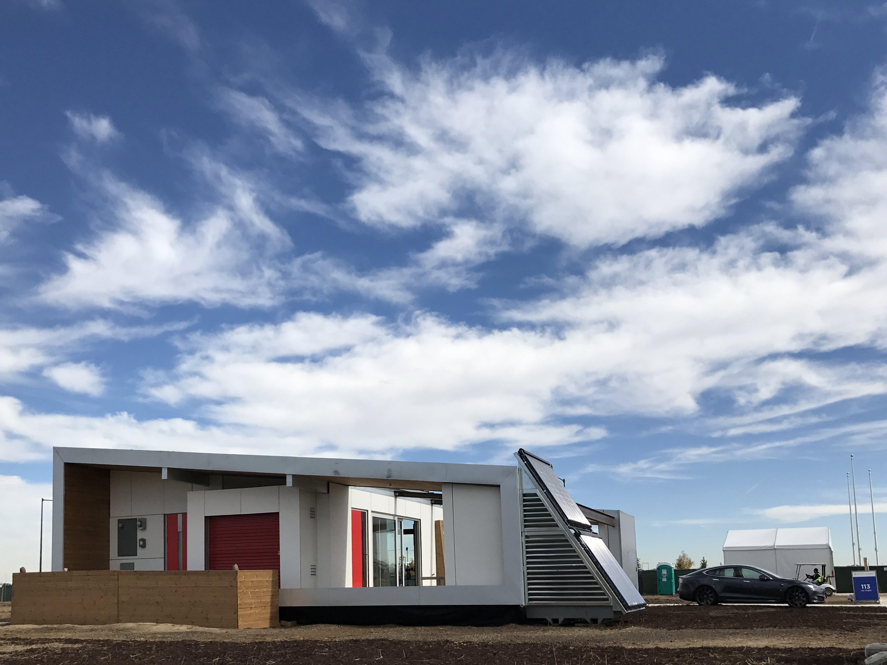 The solar decathlon competition showcases cutting edge for Edge house design