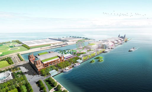Winning design of the Navy Pier Redesign Competition by team James Corner Field Operations (Image: James Corner Field Operations)