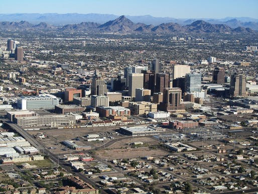 Downtown Phoenix, Arizona.