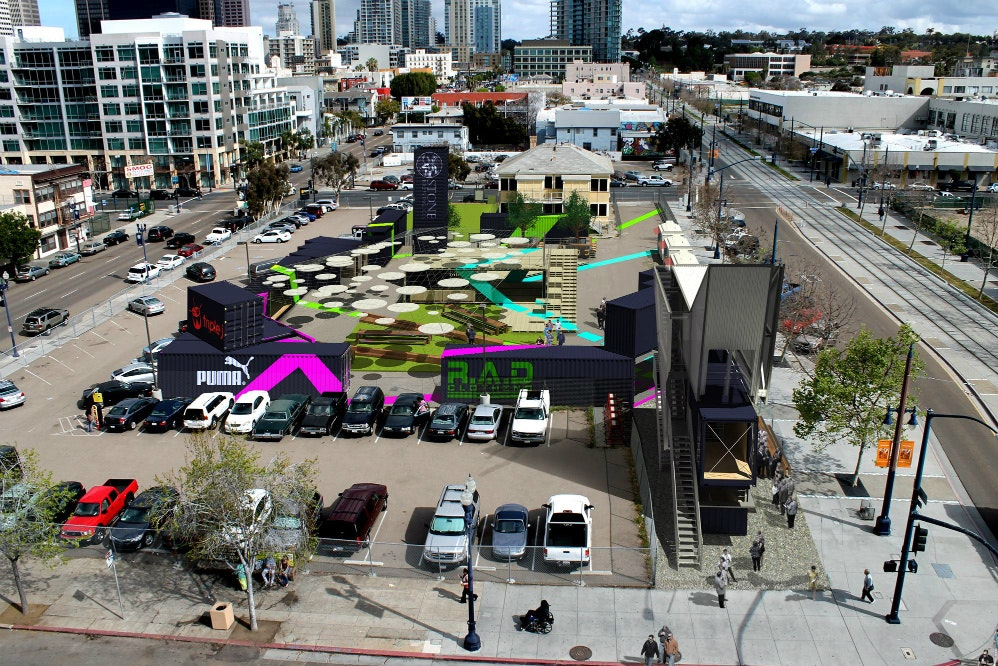 NewSchool Of Architecture And Design Senior Thesis: Temporary Architecture  Solutions Applied To Downtown San Diego | NewSchool Of Architecture +  Design | ...