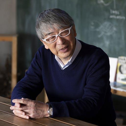 Toyo Ito. Image © FUJITSUKA Mitsumasa