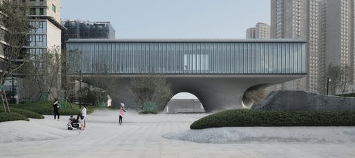 LAND Community Center | Xi'an, China | 2020. All images: International Architecture Awards