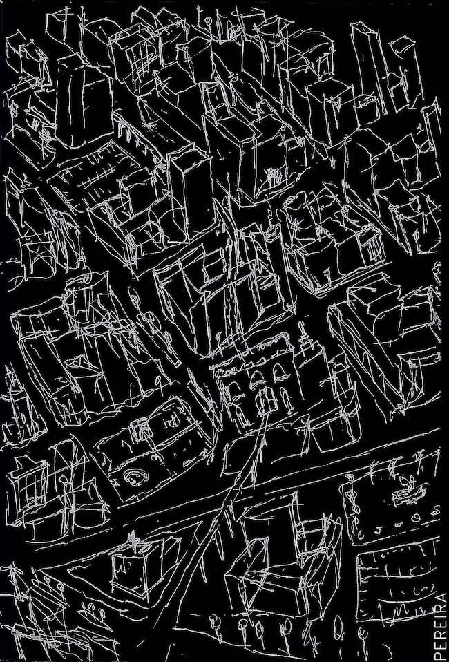 Urban Chaos; Sketch by James Pereira