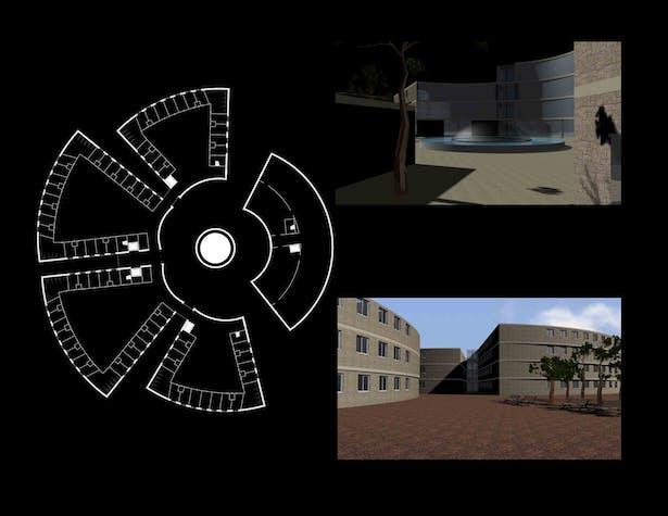 plan/ renderings
