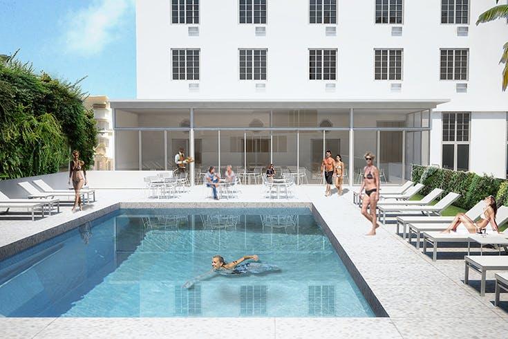 Park Central Hotel Miami Renovation