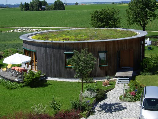 Each year, Passive Houses such as this one in Roitham, Austria open for public tours (photo by Günter Lang)