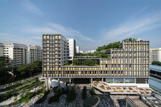 Urban Habitat - Single Site Scale: Kampung Admiralty. Architectural design: WOHA Architects. Photo © K. Kopter.