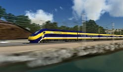 LA County residents protest planned high-speed rail